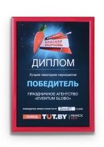 """Победитель в номинации """"Лучшее новогоднее мероприятие"""""""