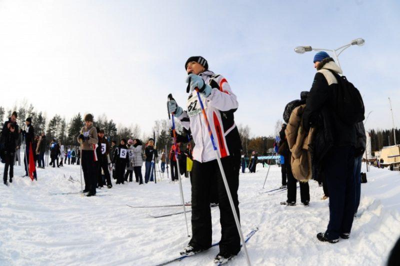 Самая мужская лыжня