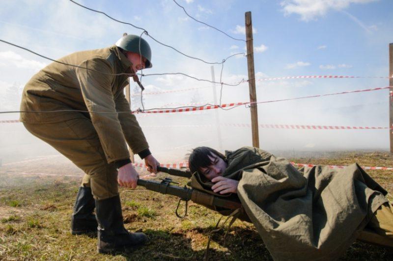 Военный квест на Линии Сталина