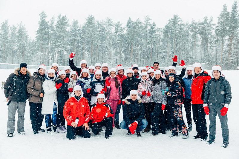 Лыжные гонки МТС
