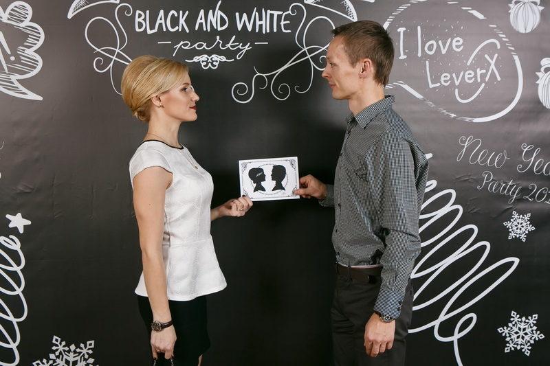 Leverx Black&White party